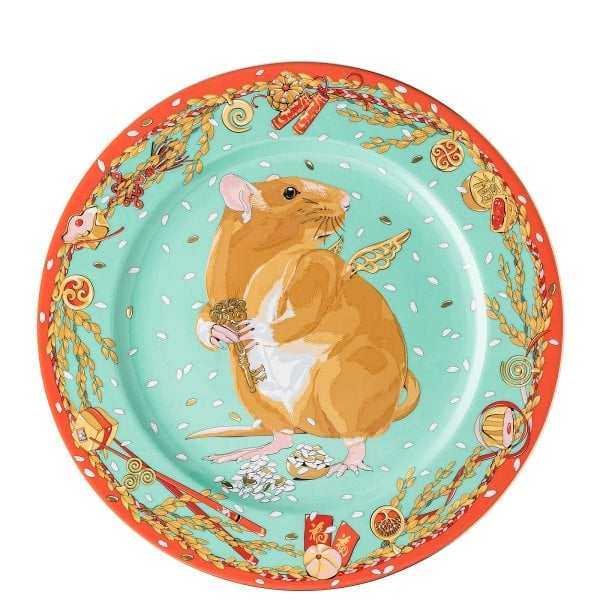 Service plate 30 cm Zodiac 2020 Year of the rat