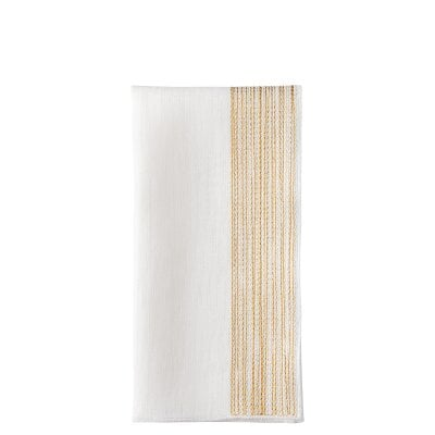 Set 2 Serviettes de table 45x45 cm Midas Textil - Gold