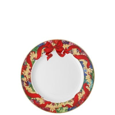 Assiette plate 22 cm Versace Reflections Holidays