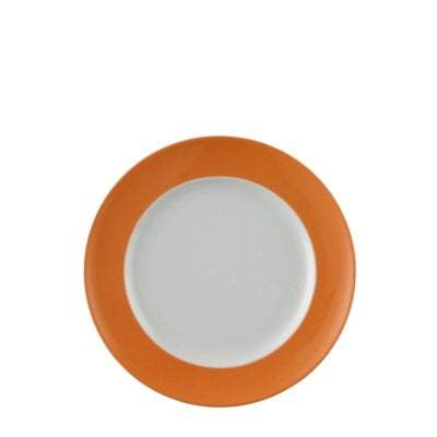 Plate 22 cm Sunny Day Orange