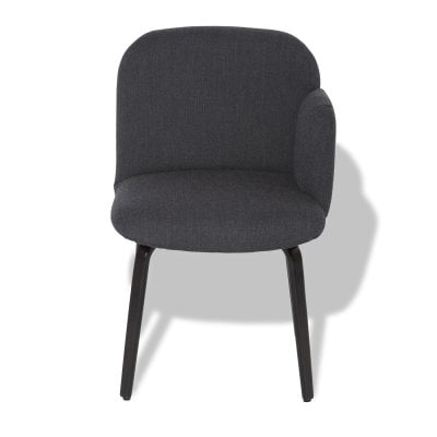 Chair armrest right BOLBO AnthraciteGrey Fabric