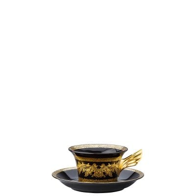 Set Teller + Tasse / 25 Years Versace Gold Baroque