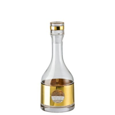 Decanter round Medusa Madness Oro