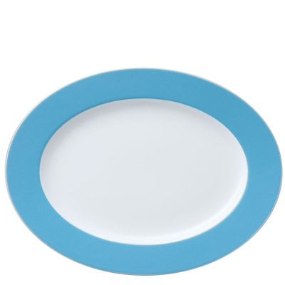 Platter 33 cm Sunny Day Waterblue