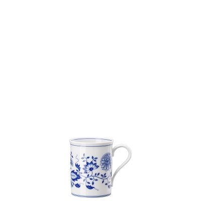 Mug with handle Blau Zwiebelmuster