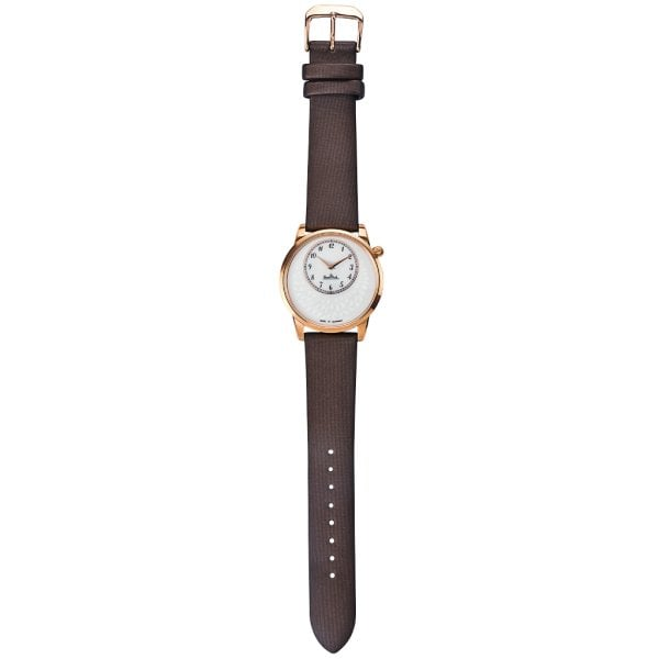 Wrist watch Lady Tropea rosegold-white-brown