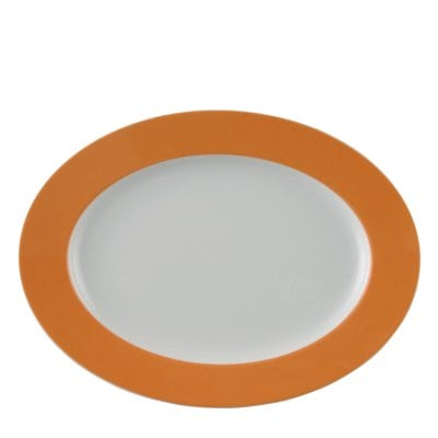 Plat 33 cm Sunny Day Orange