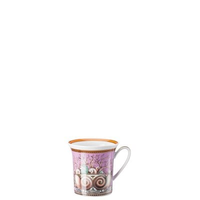 Mug with handle Versace Étoiles de la Mer, purple