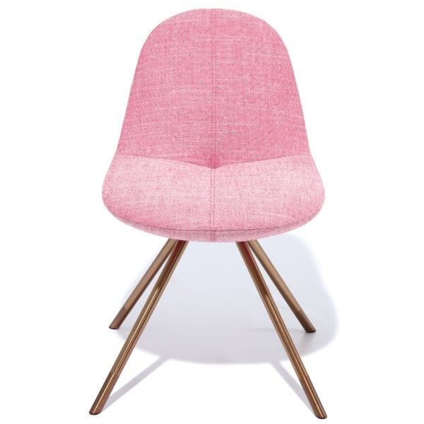 Chair FIN Light Red Fabric