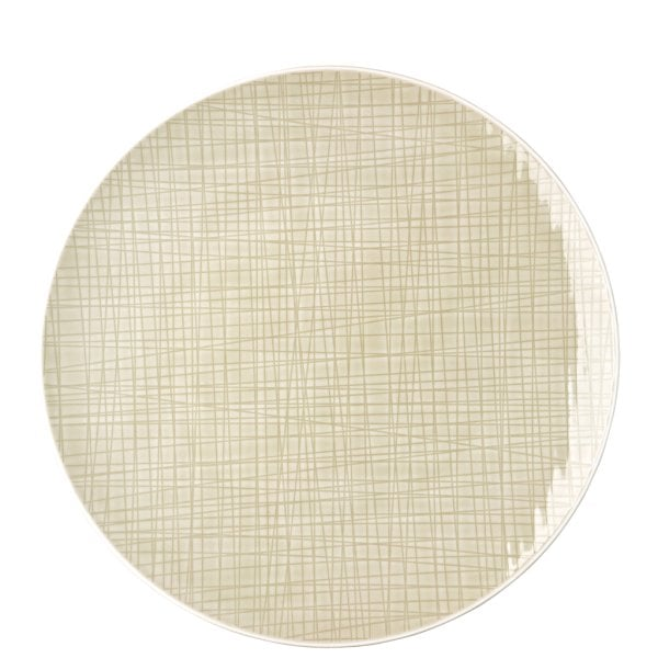 Piatto piano 30 cm Mesh Cream