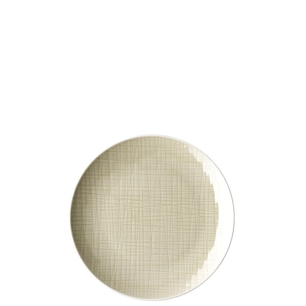 Piatto piano 19 cm Mesh Cream