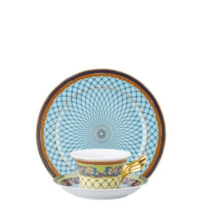 Set Teller + Tasse / 25 Years Versace Russian Dream