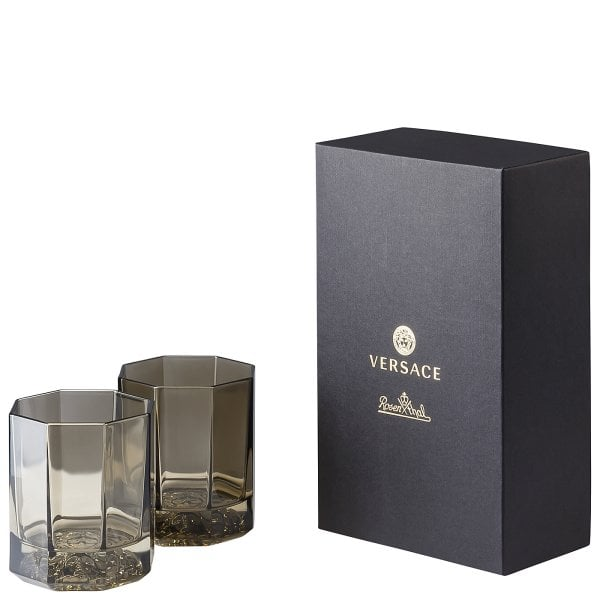 2er Set Whisky-Becher Versace Medusa Lumiere Haze