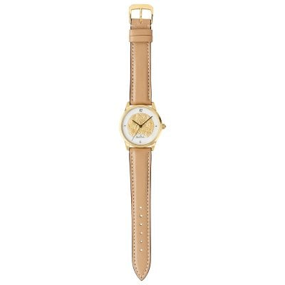 Damen-Armbanduhr Magic Garden gold-gold-brown