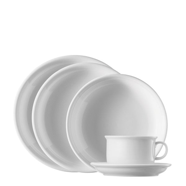 5-pcs place setting Trend White