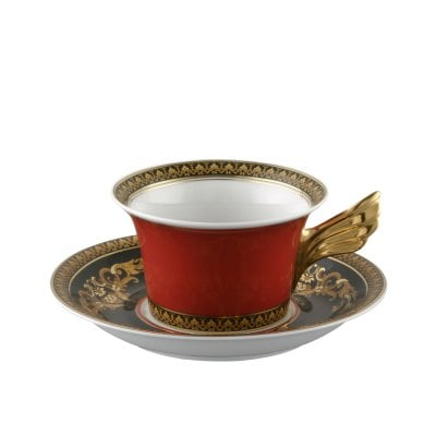 Cup & saucer 4 low Ikarus Medusa
