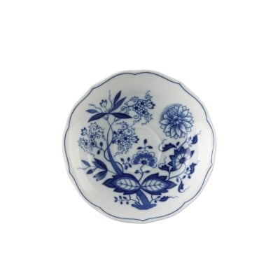 Coffee saucer with rim 14 cm Blau Zwiebelmuster