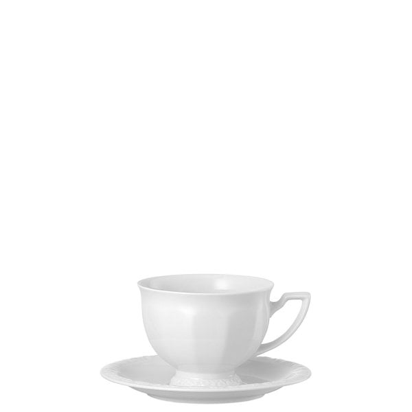 Aroma cup & saucer Maria White