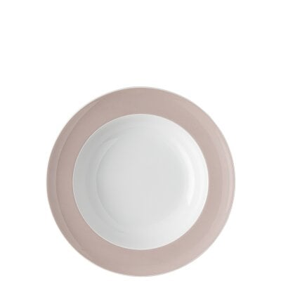 Assiette creuse 23 cm Sunny Day Rose Powder