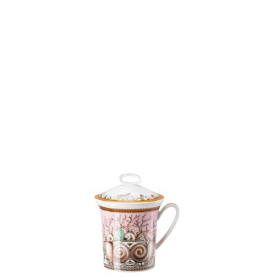 Mug with handle Versace Étoiles de Mer, pink