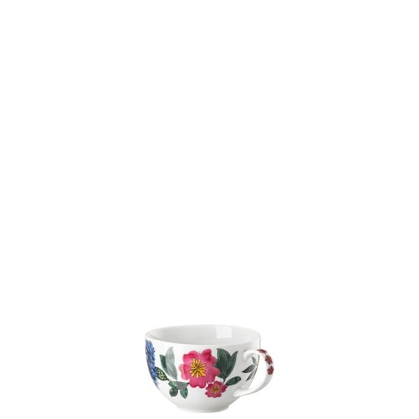 Cappuccino cup with new handle Magic Garden Blossom