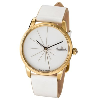 Damen-Armbanduhr Sunset gold-white-white