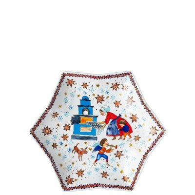 Tray star-shaped 24 cm Sammelkollektion 20 Christmas bakery