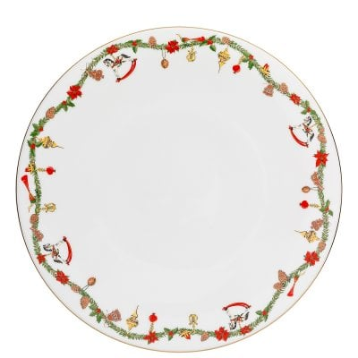Service plate 31 cm Nora Christmas