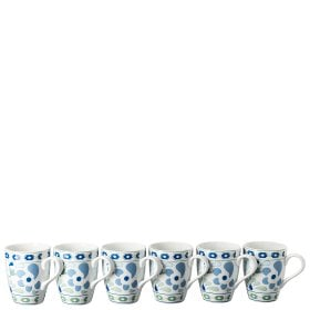 Thomas Colour Game Blue Set de 6 mugs avec anse