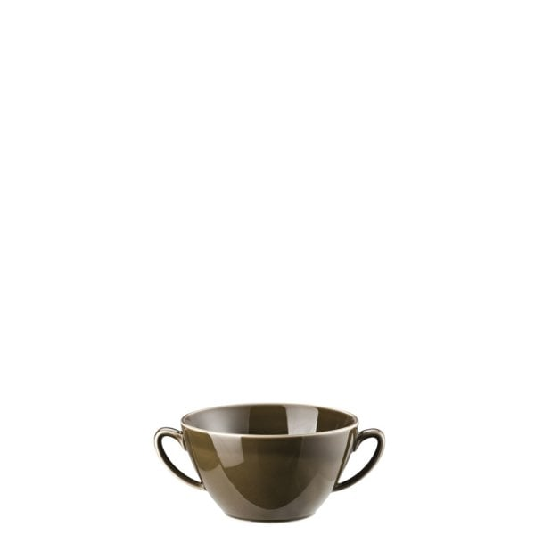 Suppen-Obertasse Mesh Walnut