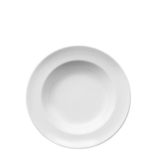Plate deep 23 cm Sunny Day White