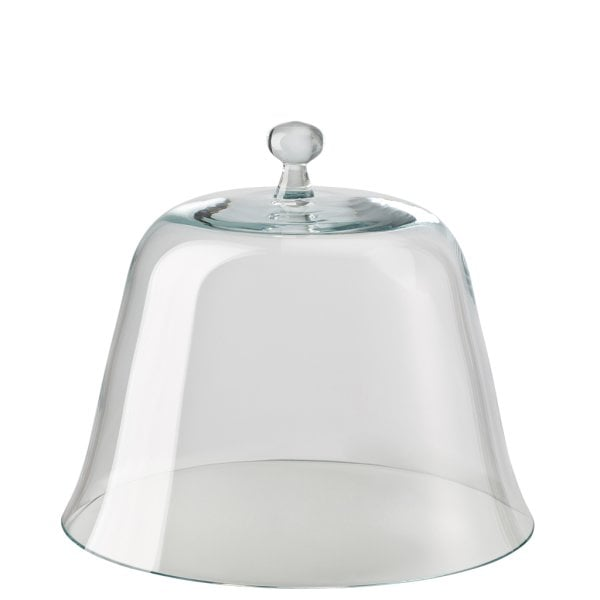 Glass dome for tart platter on foot Maria glass