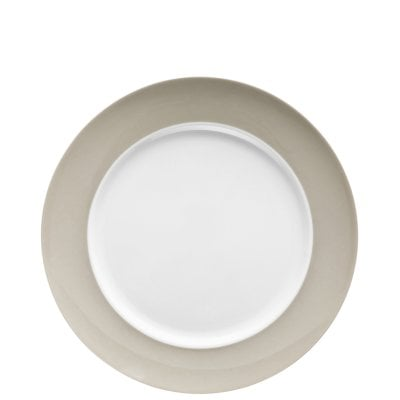 Assiette plate 27 cm Sunny Day Greige