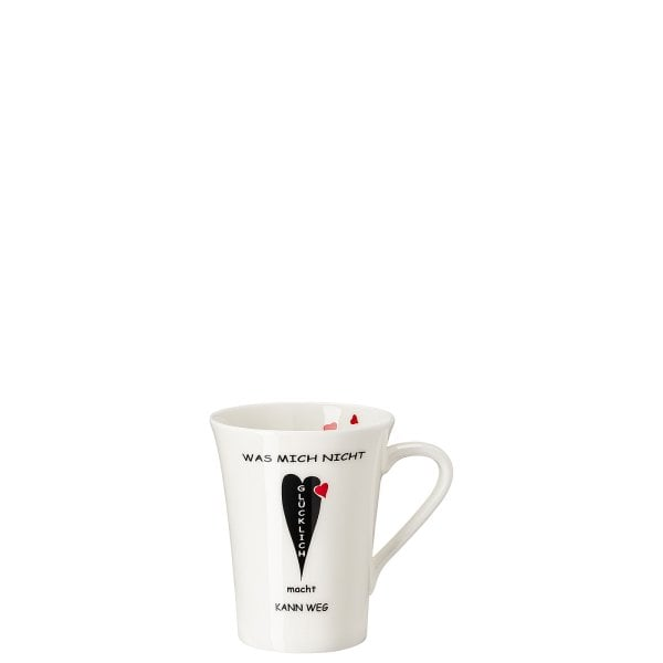 Mug with handle My Mug Collection Worte - Glücklich