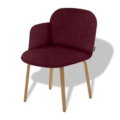 Stuhl Lehne links BOLBO Wine Red Stoff