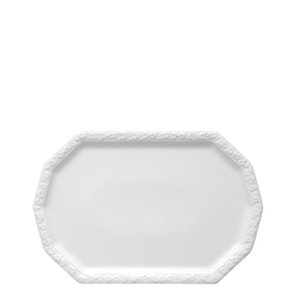 Fish plate oval 32 cm Maria White