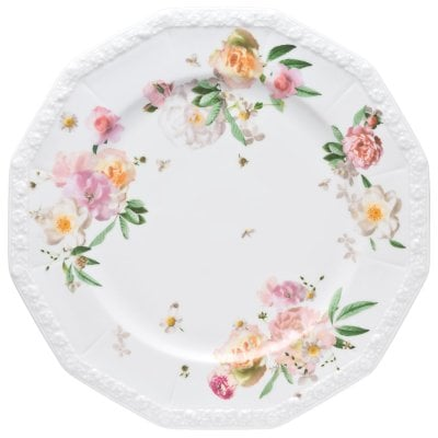 Service plate 31 cm Maria Pink Rose