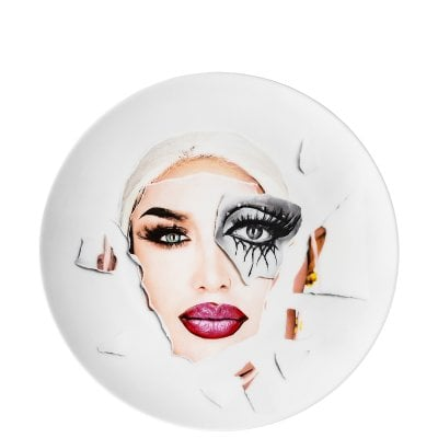 Collector´s plate 28 cm Martin Schoeller Drag Queen #2