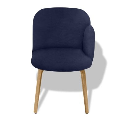 Chair armrest right BOLBO Midnight Blue Fabric