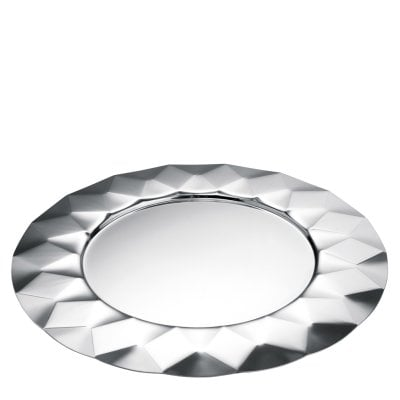 Show plate 33 cm Malia Stainless steel