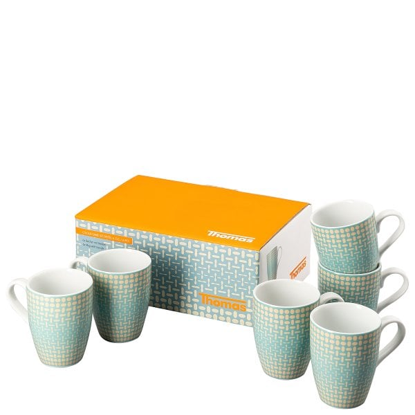 Set 6 Becher mit Henkel Thomas Colour Game Pastel