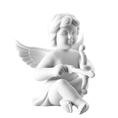 Angel Cupid 14,5 cm Angel big White-mat