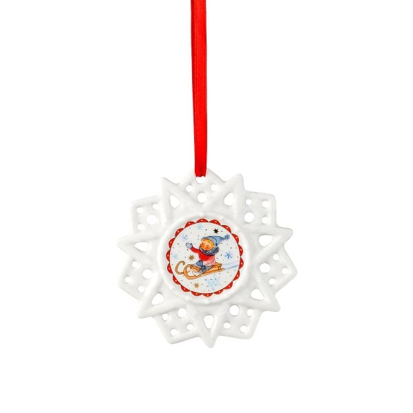 Star ornament Sammelkollektion 18 Winterfr.-Schlitten