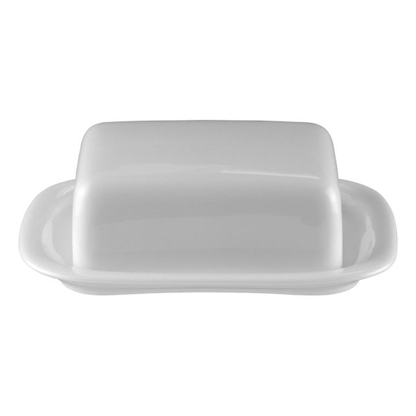 Butter dish 250 gr. Suomi White