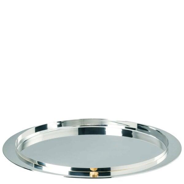 Tablett rund 38 cm Versace Bar -Stainless Steel