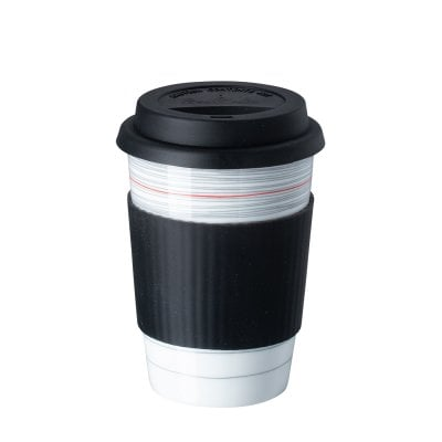 Becher to go Bauhaus 100 Stripes 2.0