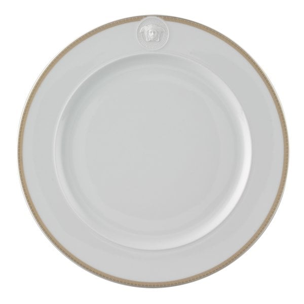 Service plate 30 cm with relief Ikarus Med. Meandre d`Or