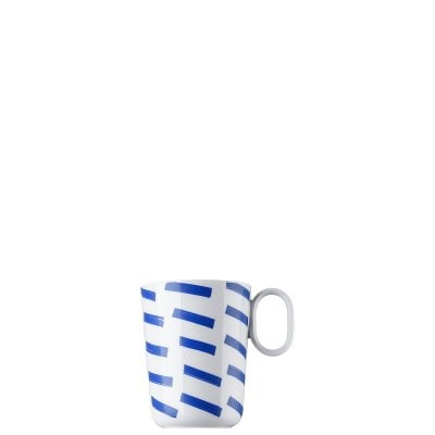 Mug with handle ONO friends Blue Lines