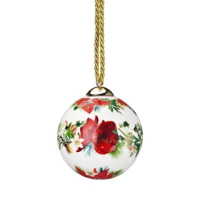 Porcelain ball Maria Winter Rose