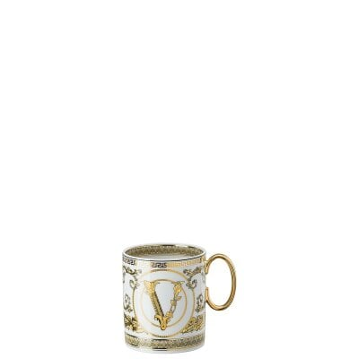 Mug with handle Versace Virtus Gala White